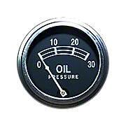 Universal Oil Pressure Gauge (0 - 30 PSI)