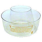 "Pre Cleaner Bowl -- Plastic, Fits Many Brands -- 7"" Diameter"