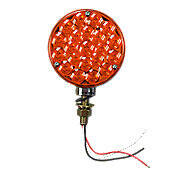 Universal 12-Volt LED Fender & Cab Warning Light, Amber & Red
