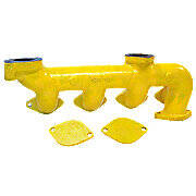 Case Exhaust Manifold (Includes 2 Plates) For Case 430, 530 630 & Many More!