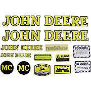 JD MC 1947-52: Mylar Decal Set