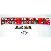 MF 65: Mylar Decal Hood Set Only