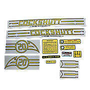 Cockshutt 20 Mylar Decal Set