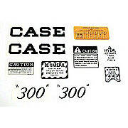 Case 300 Script: Mylar Decal Set