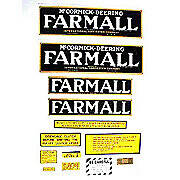 IH Farmall Regular: Mylar Decal Set
