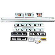 Oliver Late 550: Mylar Decal Set