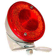 Restoration Quality 6 Volt Duolamp Tail Light Assembly