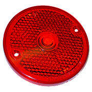 Red Plastic Tail Lite Lense