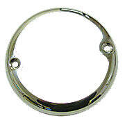 Tail Lite Lens Ring (Bezel) Stainless Steel