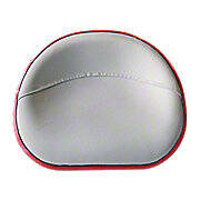 Deluxe Upholstered Seat Pan, Silver Canvas