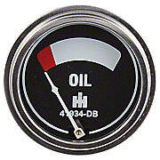 Oil Pressure Gauge With Studs (0-75 PSI)