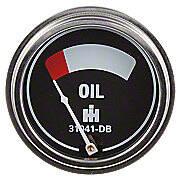 Oil Pressure Gauge (0-45 PSI) - Engine mounted