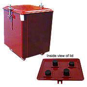 4-Piece Battery Box -- Fits Farmall C, Super C, Super A, 100, 130 -- Restoration Quality!