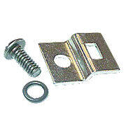 Distributor Cap Spring Clip Bracket & Screw With Lock Washer