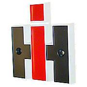 IH Front Emblem (Plastic)