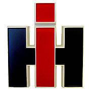 Plastic IH Emblem (For Front Or For Cab)