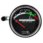 Tachometer With Red  Needle