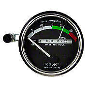 Tachometer With White Needle