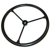 Steering Wheel  -- Fits JD M & L, AC B, C, CA & MH Pony -- Also Fits Others!