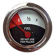 Fuel Gauge (12 Volt negative ground only)