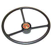 Steering Wheel With Plastic Cap