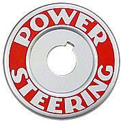 Power Steering Plate Mounts Under Steering Wheel Nut