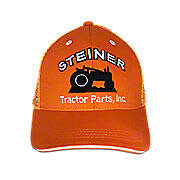 Orange Mesh Cap, STP Mesh Baseball Cap