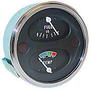 Oliver/White Instrument Cluster Gauge, Positive Ground