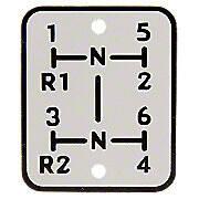 Shift Pattern Plate