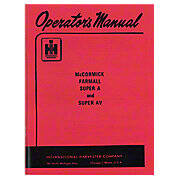 Operators Manual: Super A