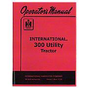 Operators Manual: IH 300 Utility