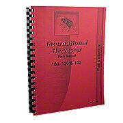 International 100, 130, 140 Parts Manual Reprint