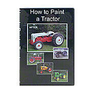 How to Paint a Tractor - Video (DVD)