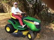 Grammy Hallman on her John Deere – Antique Tractor Blog
