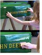 How to apply decals to your antique tractor – Antique Tractor Blog
