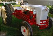 1954 Ford NAA – Antique Tractor Blog