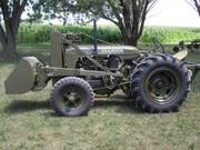 Case SI Airborne Military Tractor - Antique Tractor Blog