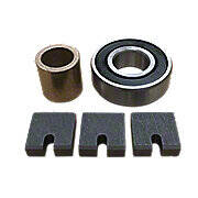 6 Volt Generator Bearing, Brush & Bushing Kit