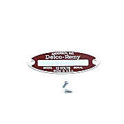Blank Starter / Generator Tag For 12-V Delco Remy  With 2 Rivets