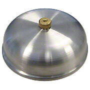 Aluminum Pre-Cleaner Cover With Brass Knurled Nut