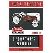 Ford 8N Operators Manual (Reprint)