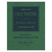 Ford 9N, 2N Owner Operator Manual Reprint