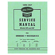 1939-1947 Ford Shop Service Manual For Owners And Mechanics