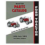 Master Parts Catalog, 1939-1953 (9N - Jubilee)