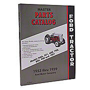 Ford Parts Manual Reprint