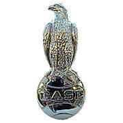 Chrome Case Eagle Emblem