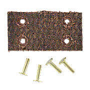 Belt Pulley Brake Lining With 4 Rivets