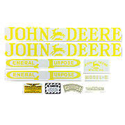 JD B 1923-38: Mylar Decal Set