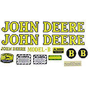 JD B 1939-46: Mylar Decal Set