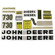 JD 730 Diesel: Mylar Decal Set